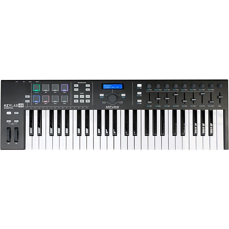 ArturiaKeyLab Essential 49 Black Edition Keyboard Controller