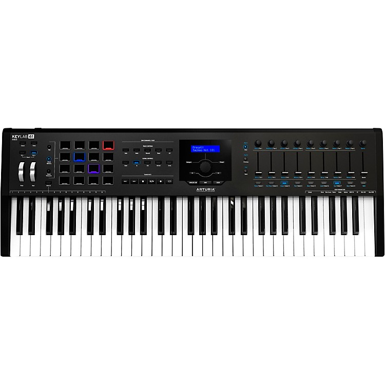 ArturiaKeyLab MKII 61 Keyboard Controller