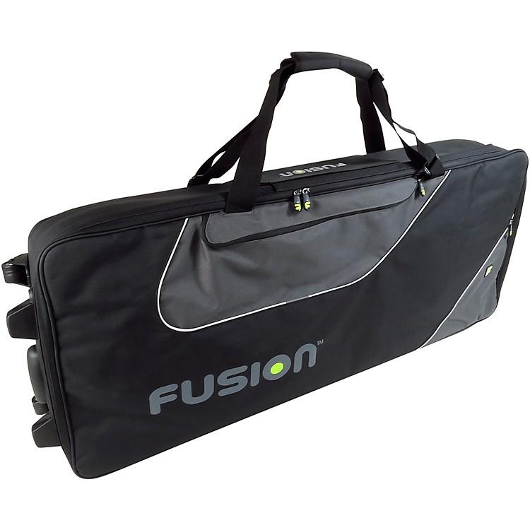 FusionKeyboard 15 Gig Bag with Wheels (76-88 Keys)