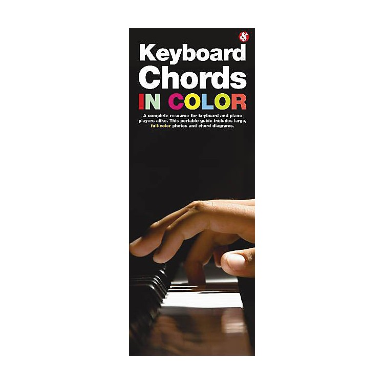 Music SalesKeyboard Chords in Color Music Sales America Series Softcover Written by Various Authors