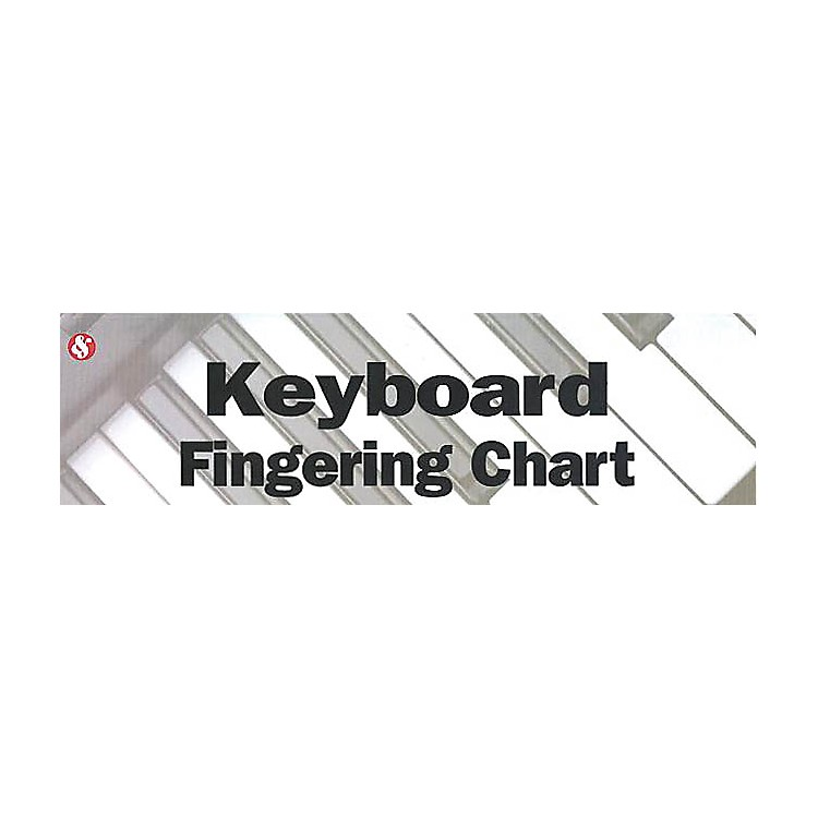 Music SalesKeyboard Fingering Chart Music Sales America Series Softcover Written by Various Authors