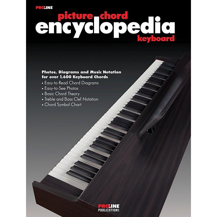 ProlineKeyboard Picture Chord Encyclopedia Book