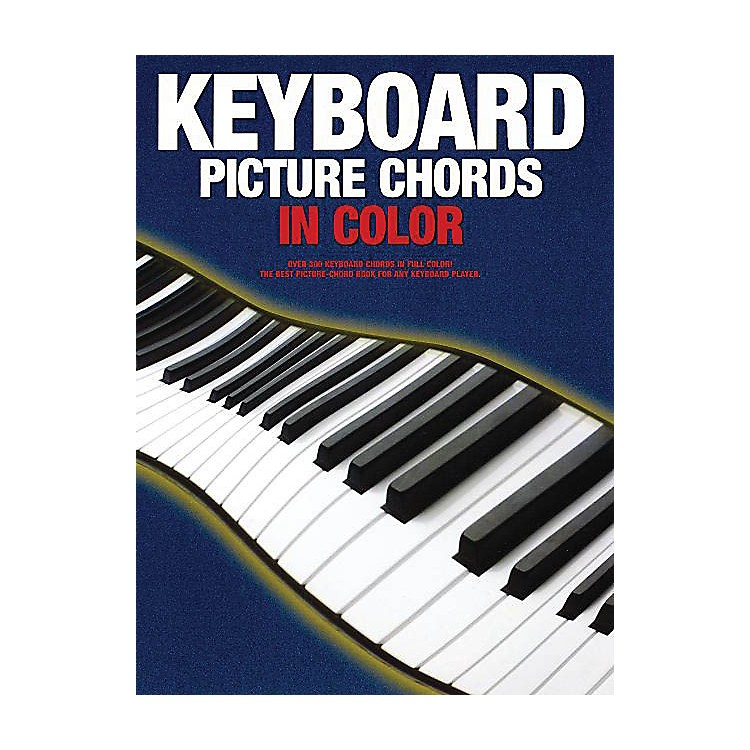 Music SalesKeyboard Picture Chords in Color Music Sales America Series Softcover Written by Various Authors