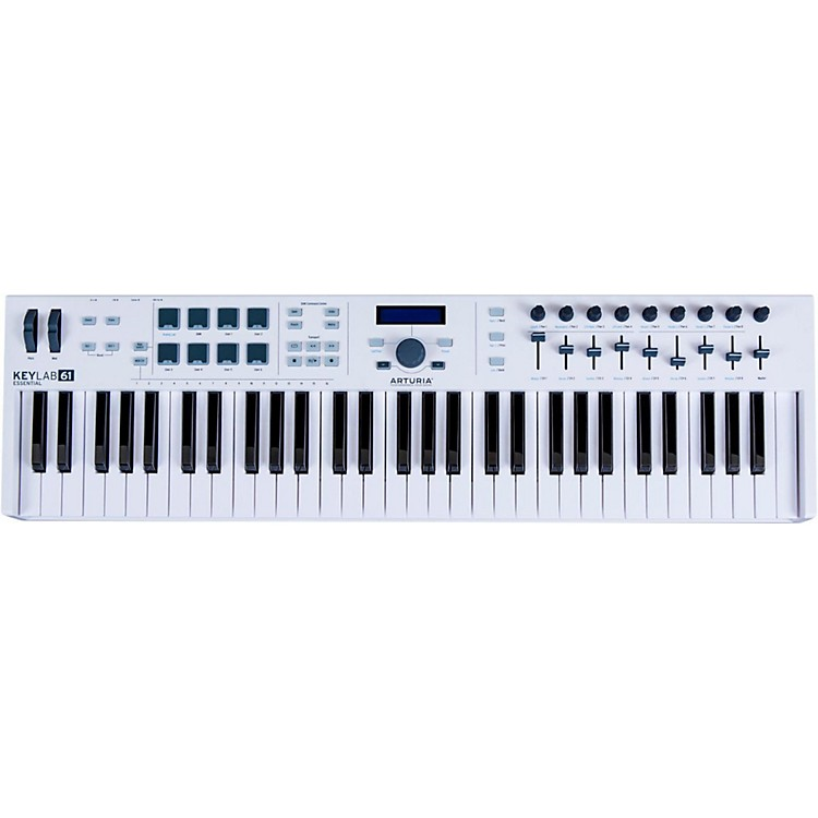 ArturiaKeylab Essential 61 Keyboard Controller