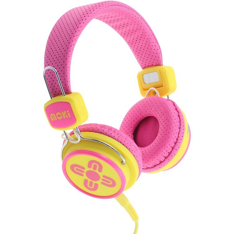 MokiKid Safe Volume Limited HeadphonesBlue/Red