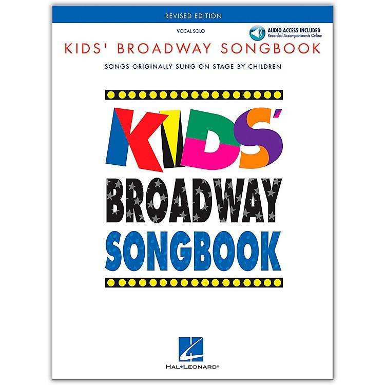 Hal LeonardKids' Broadway Songbook (Book/Online Audio)