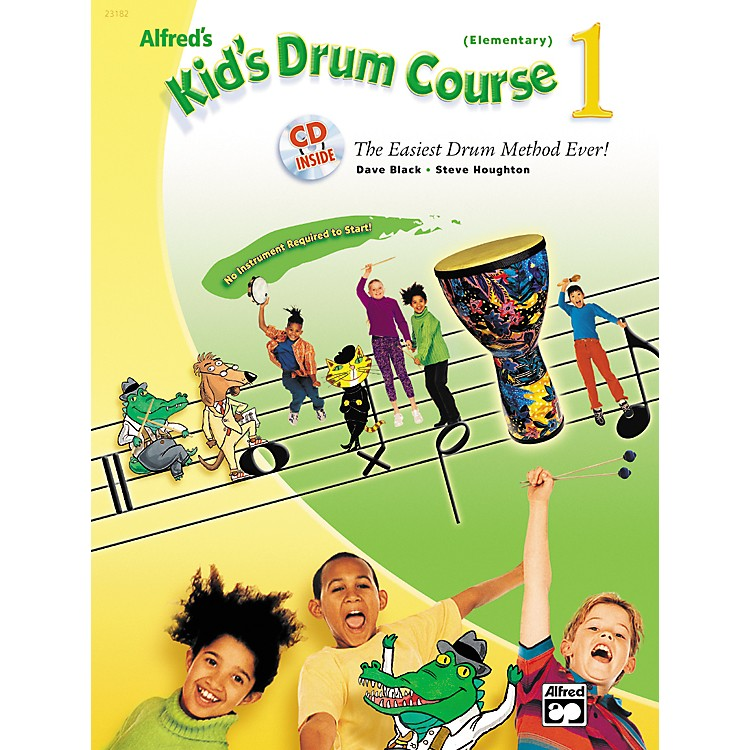 AlfredKid's Drum Course 1 (Book/CD)