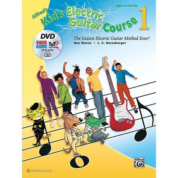 AlfredKid's Electric Guitar Course 1 (Book/DVD/Online Streaming)