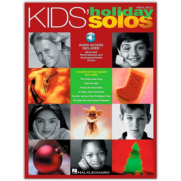 Hal LeonardKids' Holiday Solos (Book/Online Audio)
