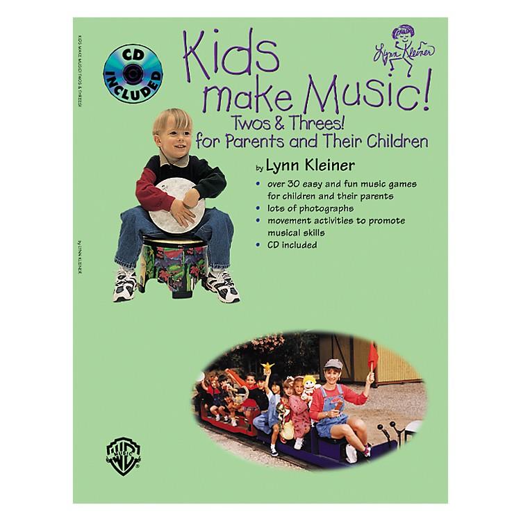 Rhythm BandKids Make Music! Twos and Threes! (Parents' Book/CD)