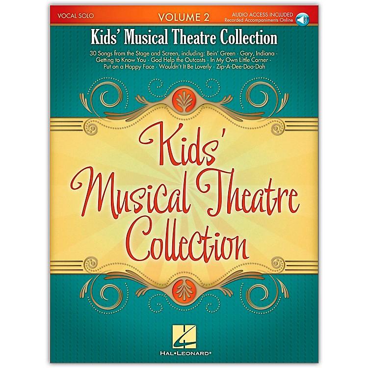 Hal LeonardKid's Musical Theatre Collection Volume 2 Book/Online Audio