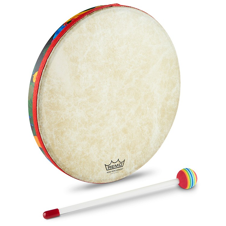 Remo Kids Percussion Hand Drums - Rainforest  8' x 1'