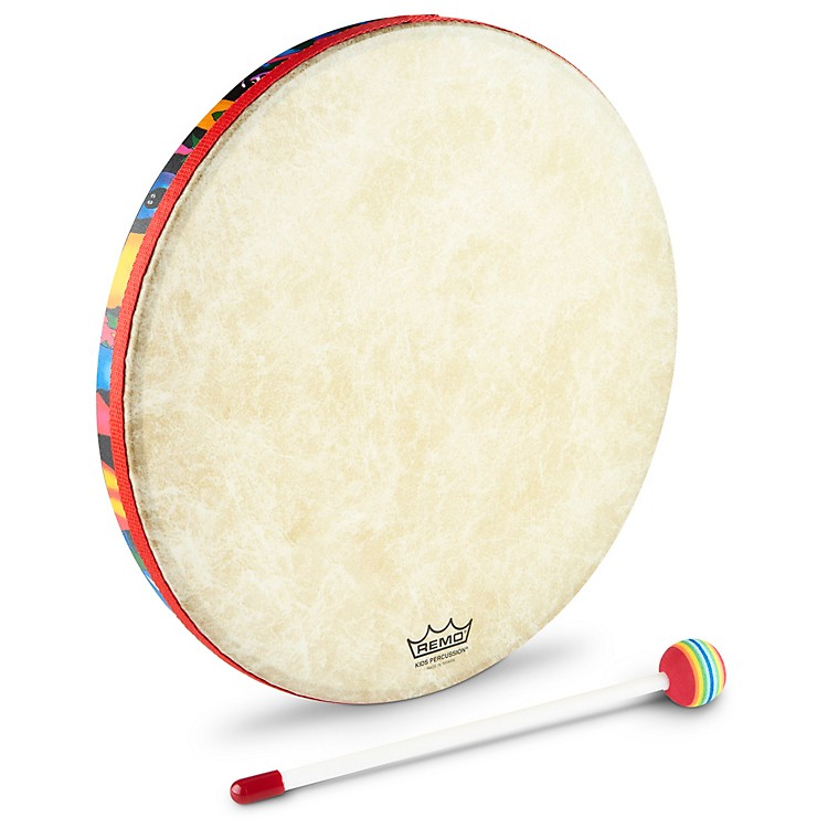 Remo Kid's Percussion Rain Forest Hand Drum  1X6 in.