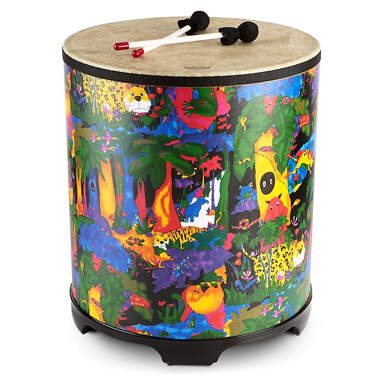 Remo Kid's Percussion Rain Forest Gathering Drum  21 x 18 in.
