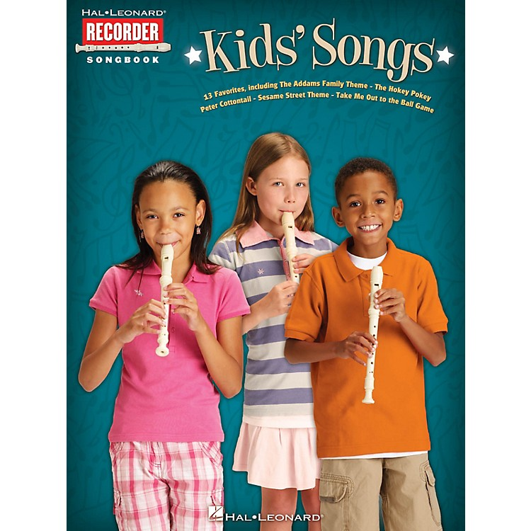 Hal LeonardKids' Songs Recorder Series Softcover