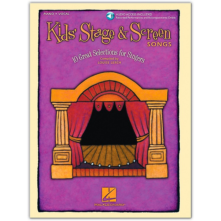 Hal LeonardKids' Stage and Screen Songs Vocal (Book/Online Audio)