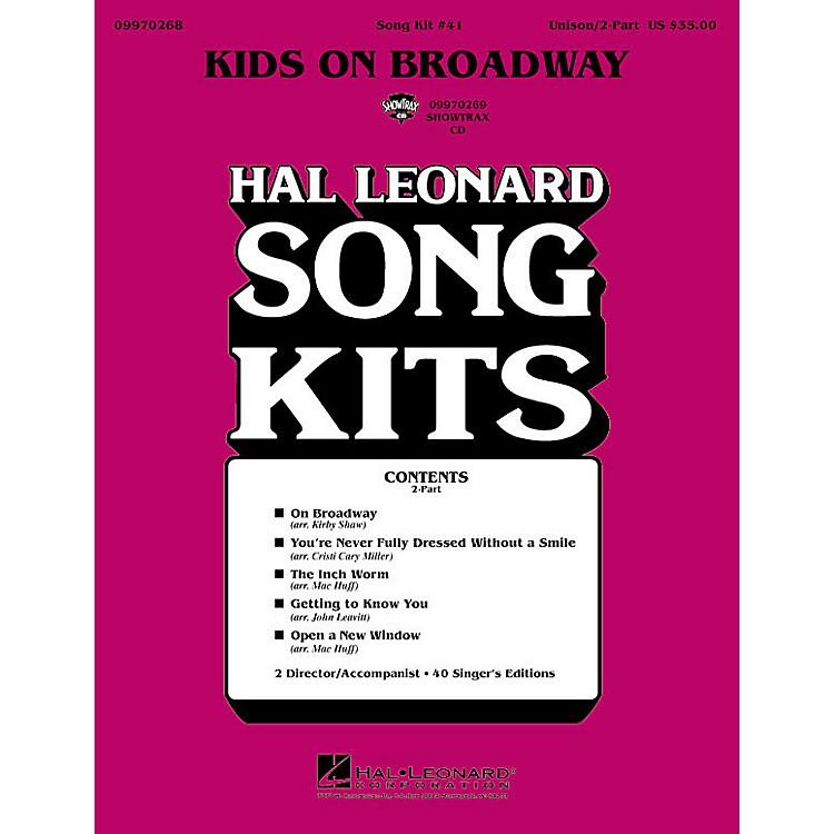 Hal LeonardKids on Broadway (Song Kit #41) (2-Part Song Kit) 2-Part Arranged by John Leavitt