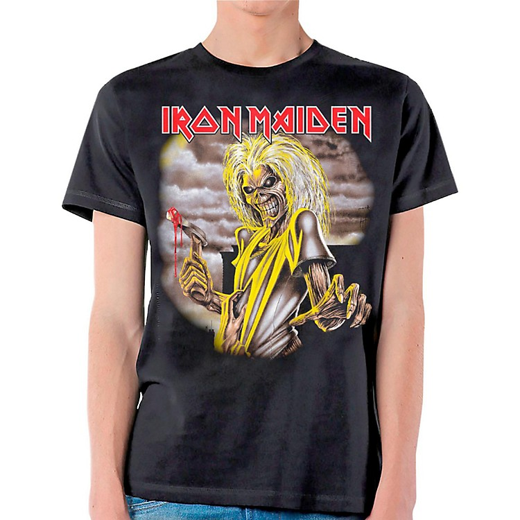 Iron Maiden Killers T-Shirt Large Black
