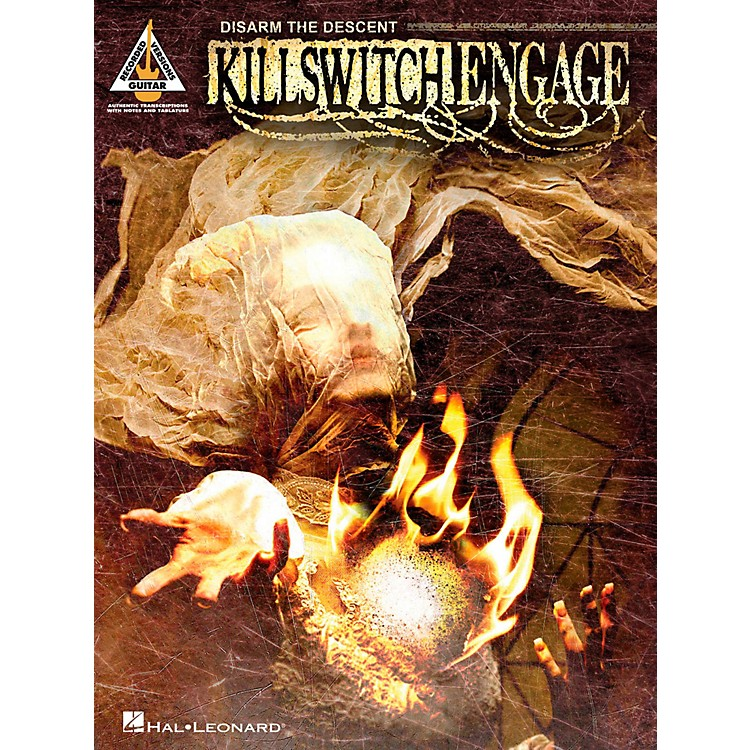 Hal LeonardKillswitch Engage - Disarm The Descent Guitar Tab Songbook