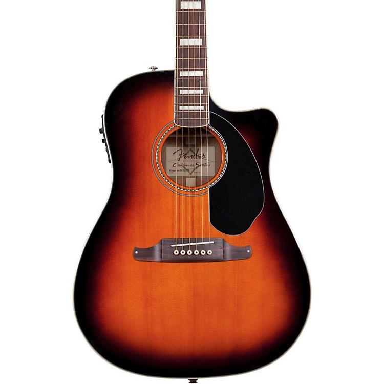 FenderKingman SCE Acoustic Electric Guitar3-Color Sunburst