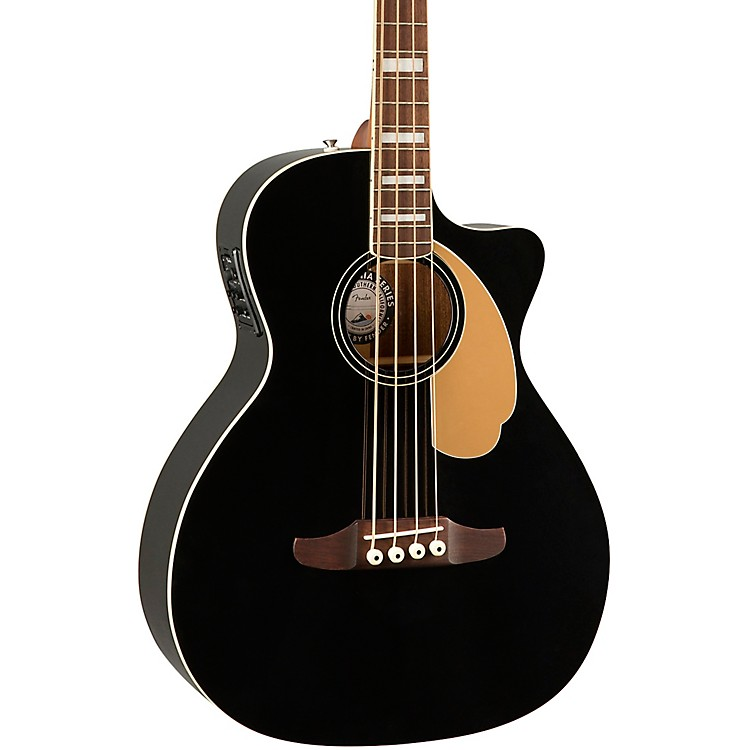 Fender Kingman V2 Acoustic-Electric Bass Black
