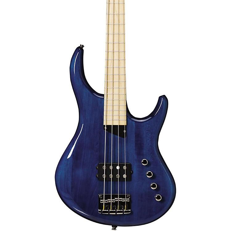 MTDKingston Artist Bass GuitarTransparent BlueMaple