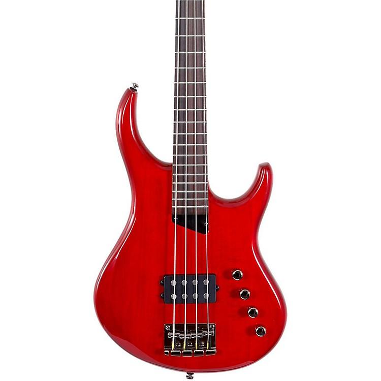 MTDKingston Artist Bass GuitarTransparent CherryRosewood