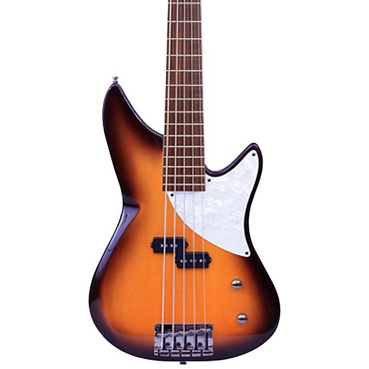 MTD Kingston CRB 5-String Electric Bass Guitar Tobacco Sunburst Maple Fingerboard