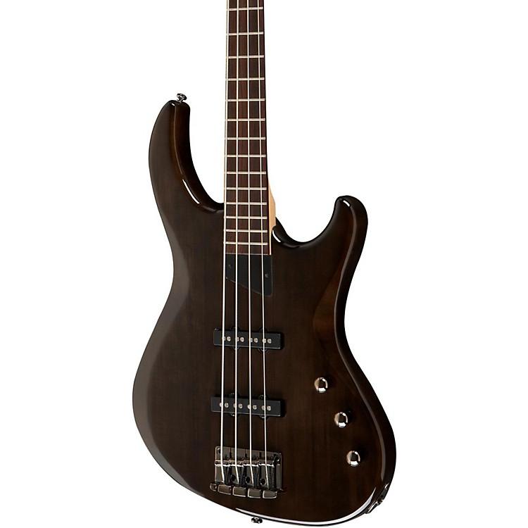 MTDKingston Saratoga 4-String Electric Bass GuitarTransparent BlackRosewood Fingerboard
