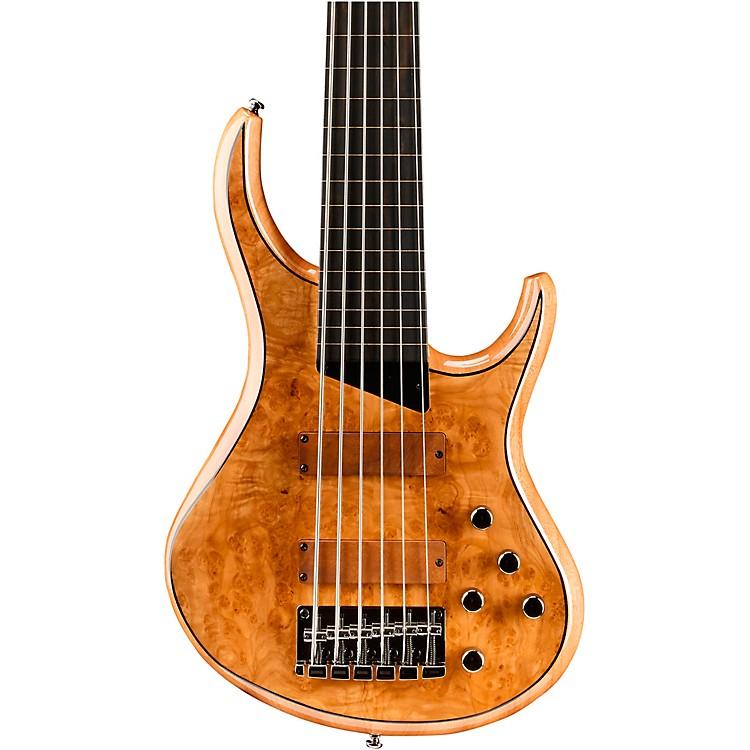 MTDKingston Z6 6-String Fretless Ebony Fingerboard Electric Bass GuitarNatural