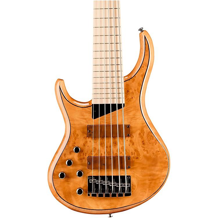MTDKingston Z6 6-String Left-Handed Maple Fingerboard Electric BassNatural