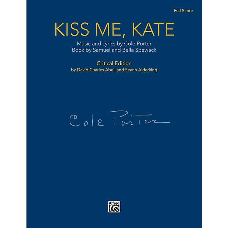 AlfredKiss Me, Kate - Full Orchestral Score (Case Bound)