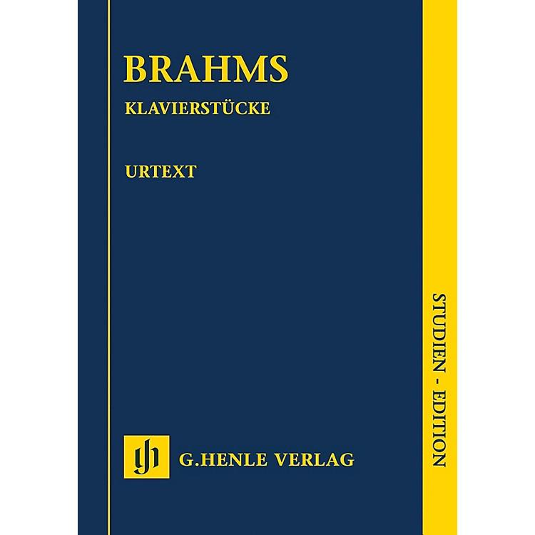G. Henle VerlagKlavierstücke (Revised Edition) Henle Study Scores Series Softcover
