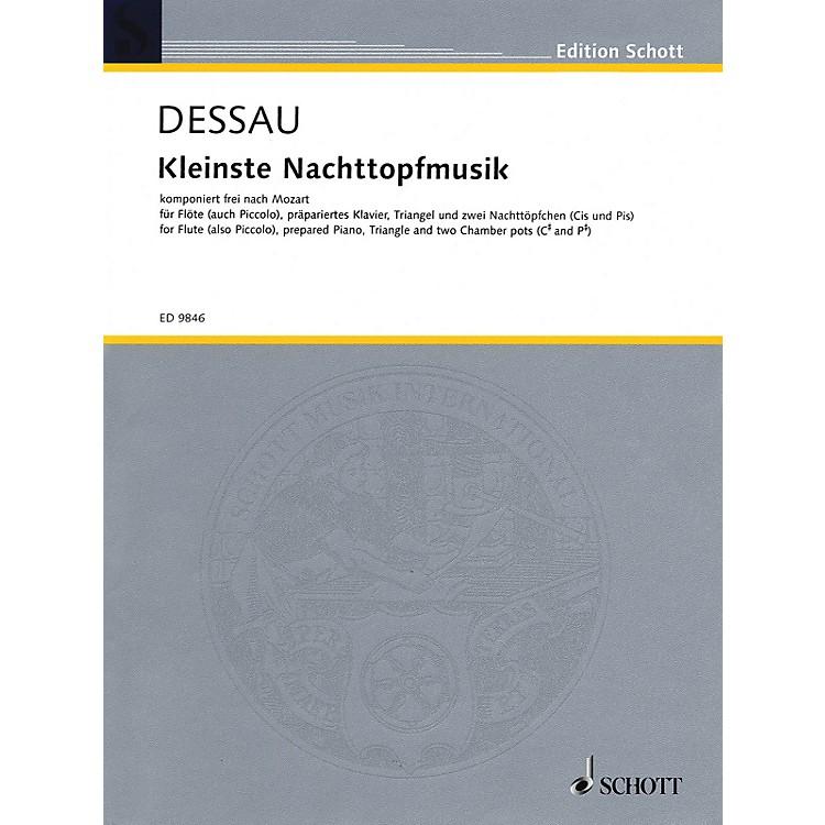 SchottKleinste Nachttopfmusik (Score and Parts) Schott Series Composed by Paul Dessau