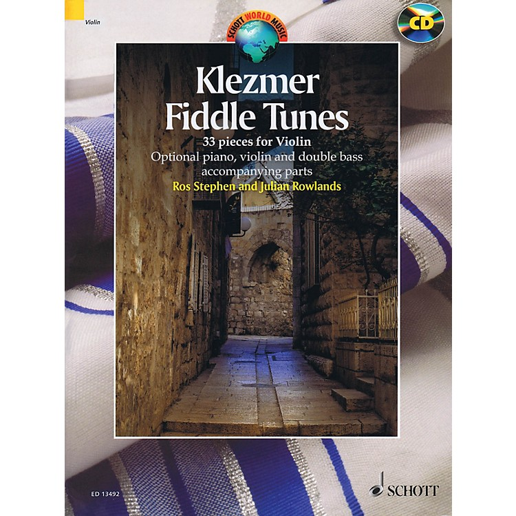 SchottKlezmer Fiddle Tunes String Solo Series Softcover with CD