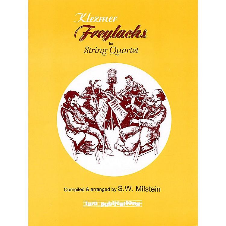 Tara PublicationsKlezmer Freylachs for String Quartet Tara Books Series Arranged by S.W. Milstein