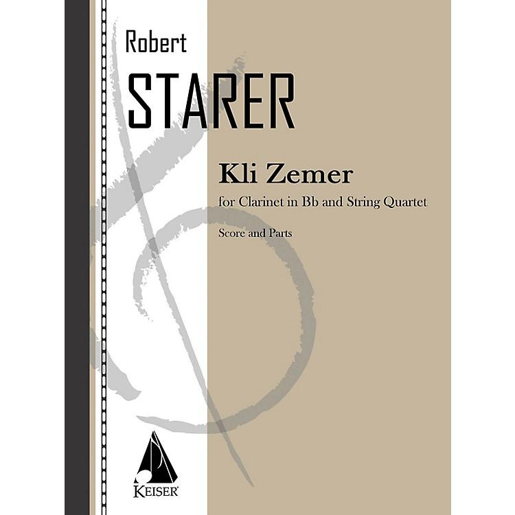 Lauren Keiser Music PublishingKli Zemer (Concerto for Clarinet) LKM Music Series