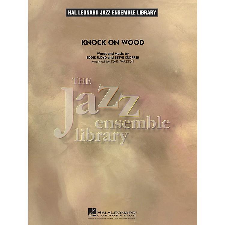 Hal LeonardKnock On Wood (Key: F) Jazz Band Level 4 Arranged by John Wasson
