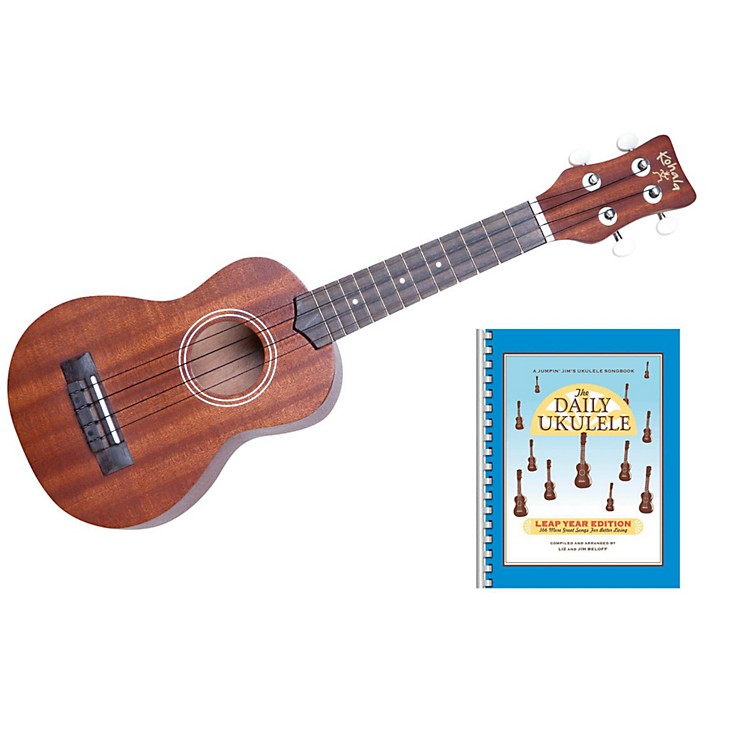 Hohner Kohala KOGS Soprano Ukulele and Songbook Kit