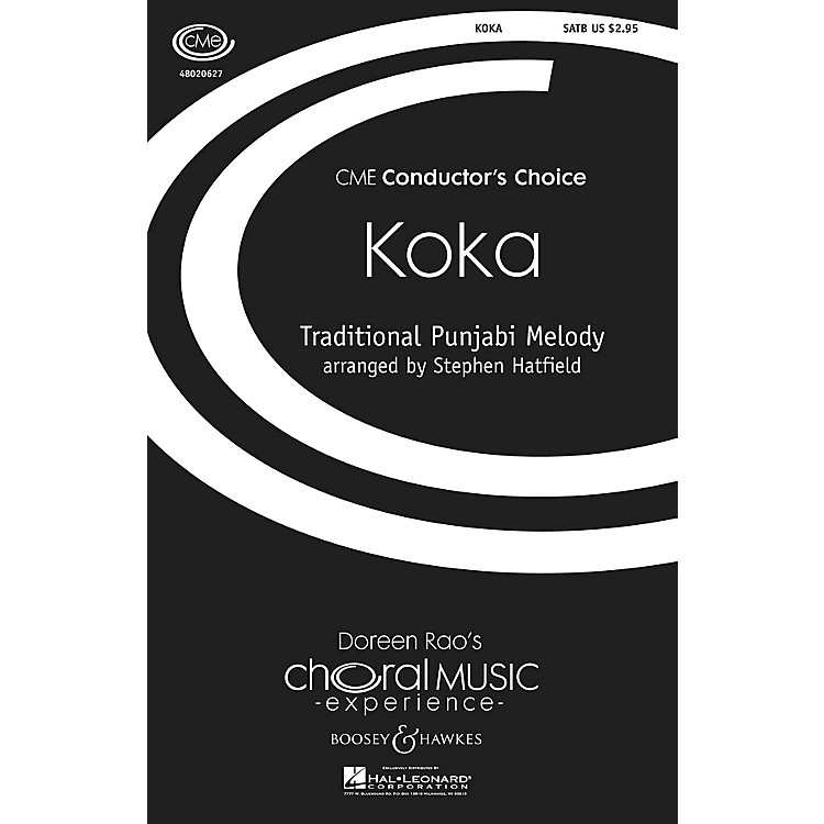 Boosey and HawkesKoka (CME Conductor's Choice) SATB arranged by Stephen Hatfield