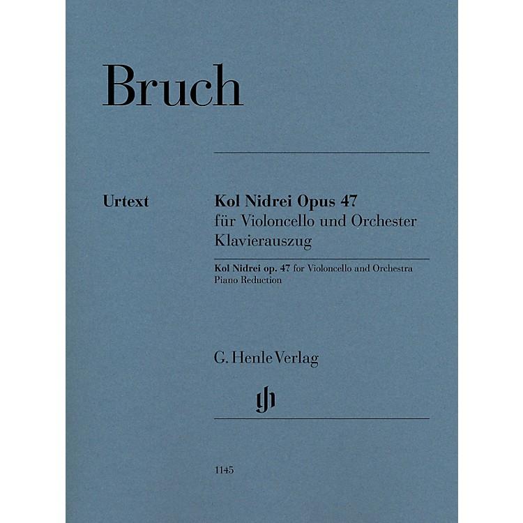 G. Henle VerlagKol Nidrei, Op. 47 for Cello and Piano