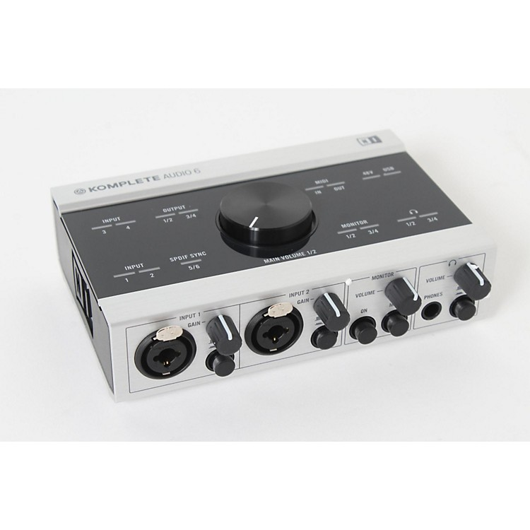 Native InstrumentsKomplete Audio 6888365893037