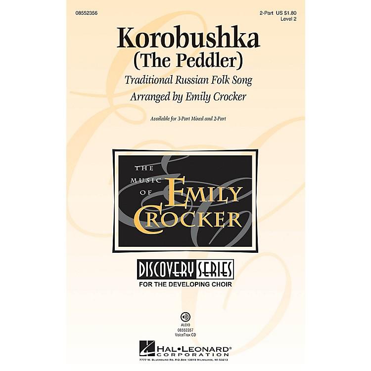 Hal LeonardKorobushka (The Peddler) Discovery Level 2 2-Part arranged by Emily Crocker
