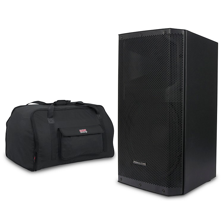 American AudioKpow 15BT MK II 1,000W Powered Speaker with Tote