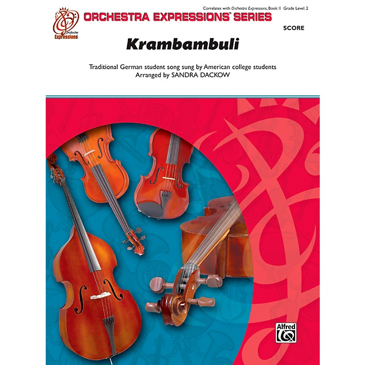 AlfredKrambambuli String Orchestra Grade 2 Set