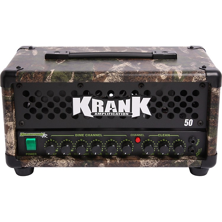 Krank Krankenstein Jr. 50W Tube Guitar Amp Head