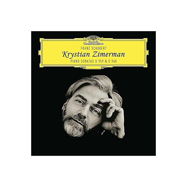 AllianceKrystian Zimerman - Schubert Piano Sonatas D959 & 960