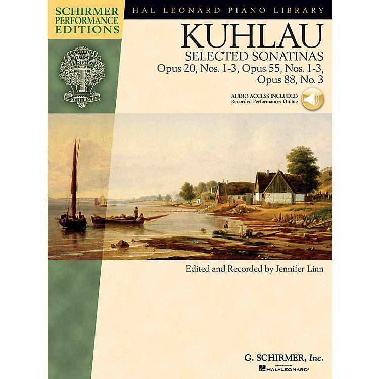 G. SchirmerKuhlau - Selected Sonatinas Schirmer Performance Editions Softcover Audio Online by Friedrich Kuhlau