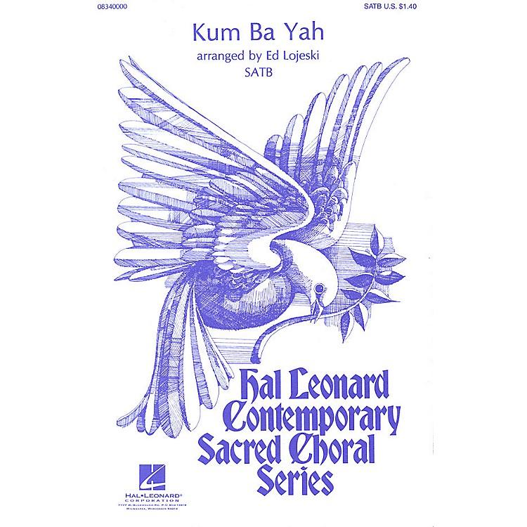 Hal LeonardKum Ba Yah SATB arranged by Ed Lojeski