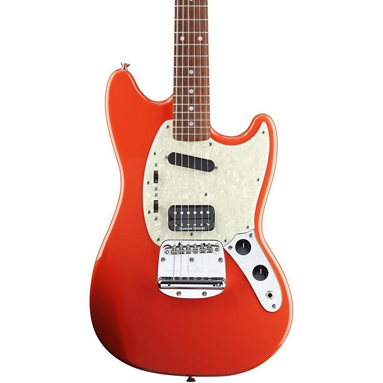 FenderKurt Cobain Signature Mustang Electric GuitarFiesta RedRosewood Fingerboard
